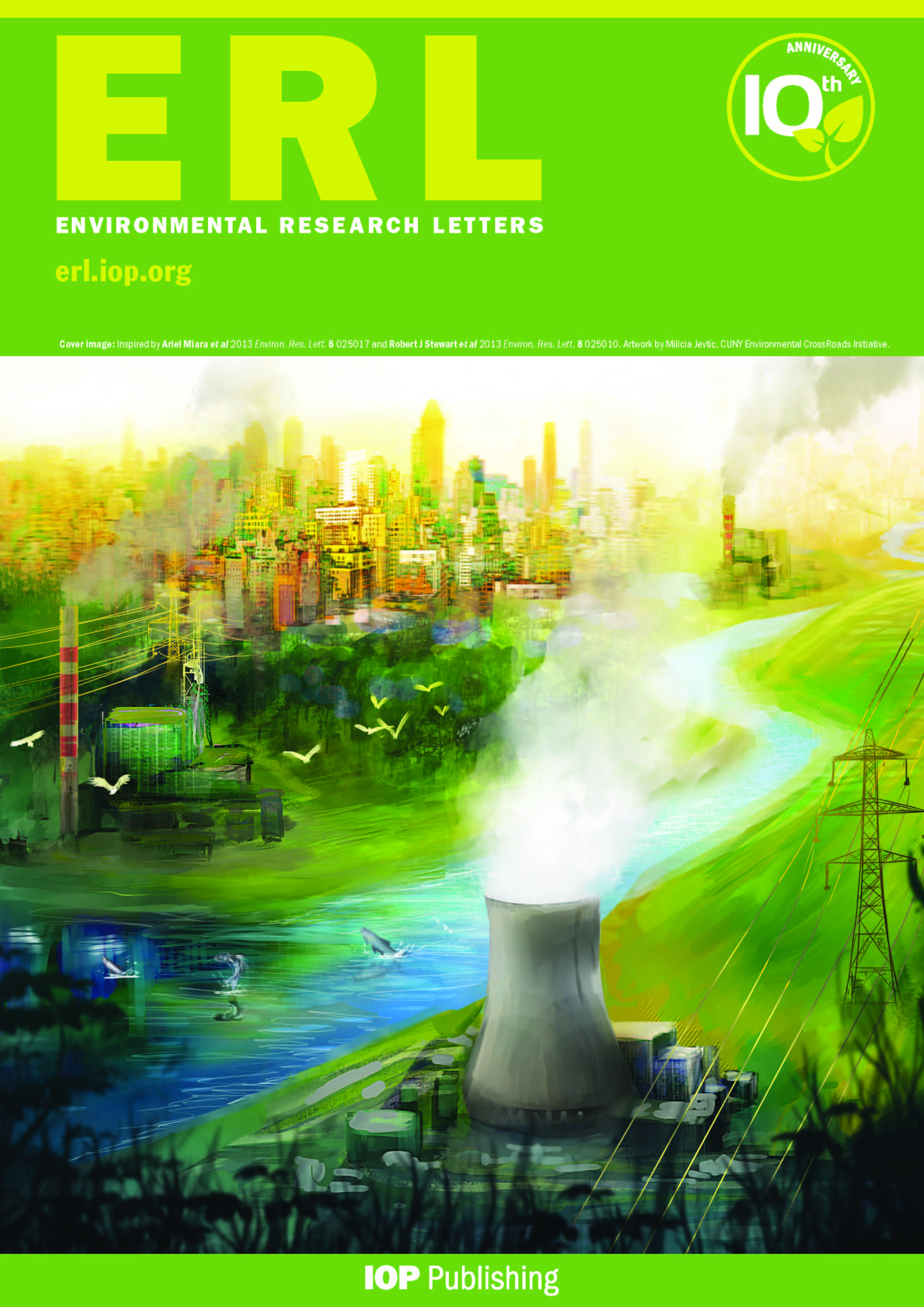 environmental research letters environmental research letters 1205