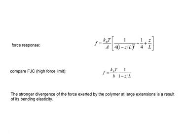 Slide 14 Force in a WLC model
