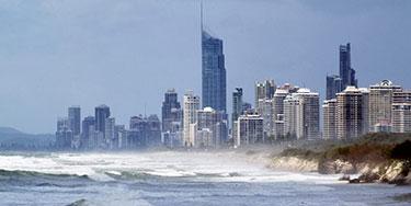 Storm surge in Australia