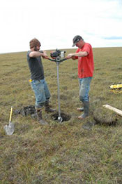 Permafrost coring