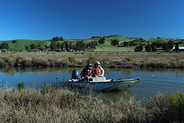 Assessing a threatened wetland