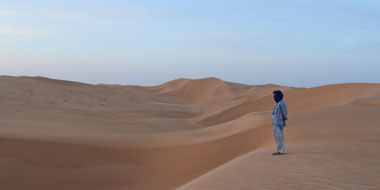 Sand galore in the Sahara – and there's more to come