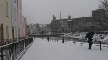Winter 2009-2010 in Bristol, England: blame the Sun