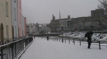 Winter 2009-2010 in Bristol, England: blame the Sun