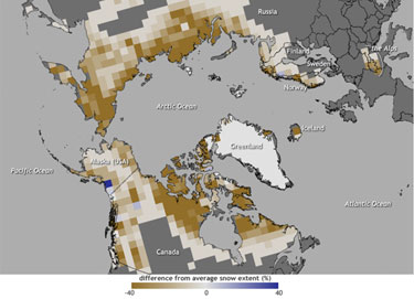 June snow cover