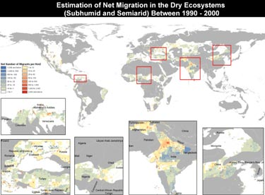 Dryland migration