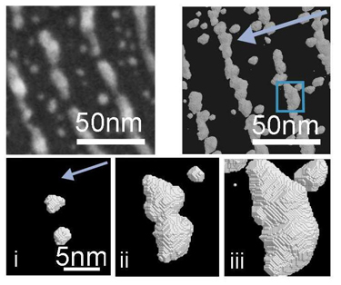 Ag nanorods and nanoclusters