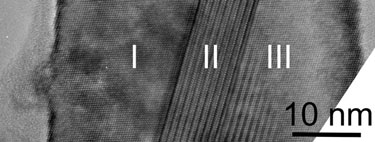 High-resolution image of a silicon nanowire