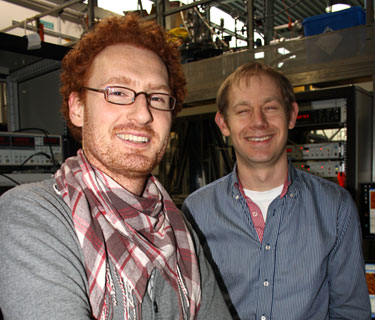 Constant Guédon (left) and Sense Jan van der Molen