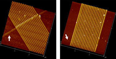 Ribbed and planar memristor structures