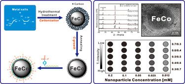 Synthesis of highly magnetic graphite-encapsulated FeCo nanoparticles