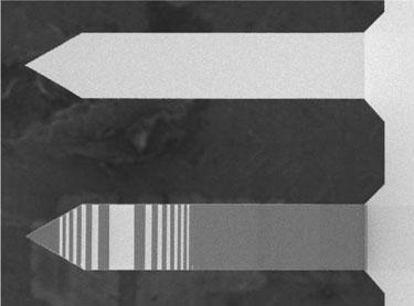 Fresnel cantilever