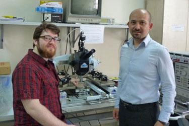 Bedri Gurkan Sonmez and Senol Mutlu from Bogazici University