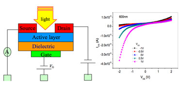 FET-based photodetector: configuration and output characteristics