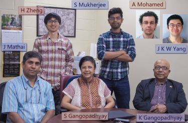 The Gangopadhyay research group
