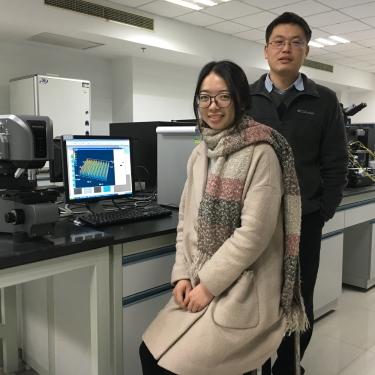 Zhen Xu and Professor Dongdong Li