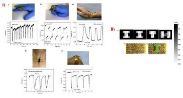 Eraser sensor integrated onto body parts
