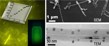 Boron nitride nanotubes configured as miniature pH sensors