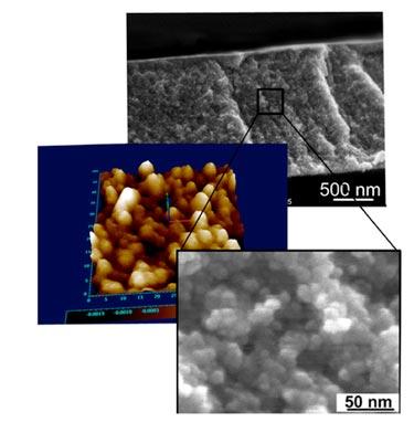 Nanoporous film