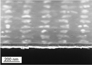 lead titanate nanograins embedded in a matrix layer
