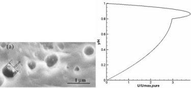 Nanotube exits and velocity profile