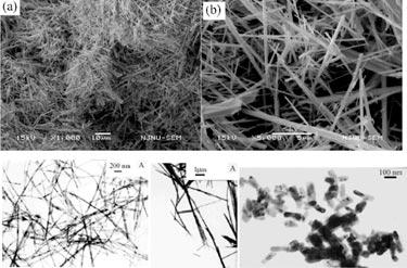 Nanowires and nanorods