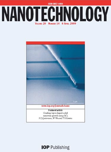 Cover image: guiding vapor–liquid–solid nanowire growth