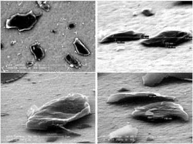 Graphite nanoplatelets
