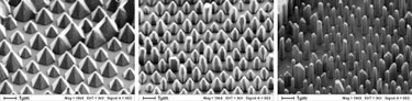 Shaping the nanoworld: carrier gas compositions can be tuned to give different shaped crystals