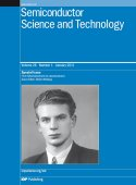 A special issue of the journal Semiconductor Science and Technology