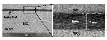 Indium arsenide quantum membranes