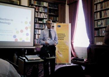 Building bridges: Martin Kemp of the UK's NanoKTN