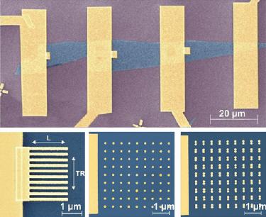 Nanostructures make graphene shine