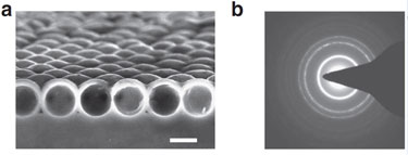 Silicon spherical nanoshells