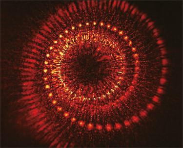 A 3D helix hologram