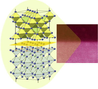 Spinel/perovskite interfaces