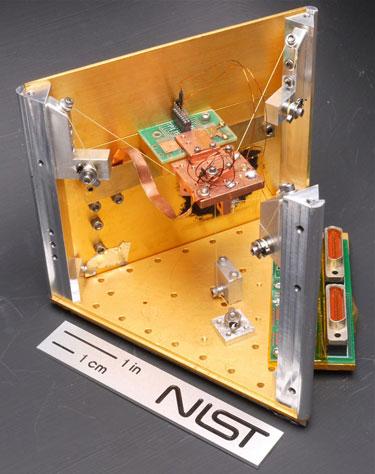 Photograph of the quantum fridge