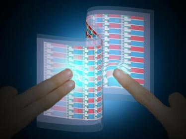Interactive e-skin device