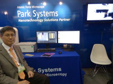Park demonstrates the fully automated atomic force microscope