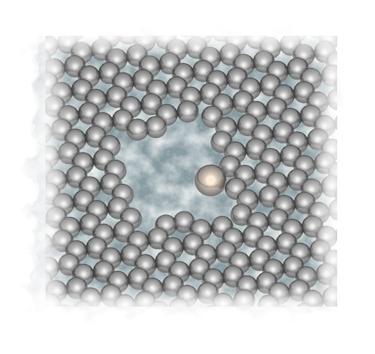 Making clean holes in graphene