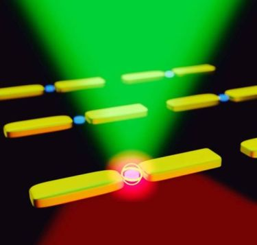 Nonlinear upconversion nanosystem