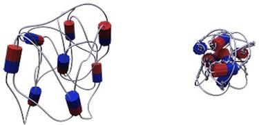 Light-driven polymer gel motor