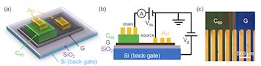C60-graphene vertical heterostructures
