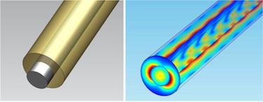 The core-shell nanostructure