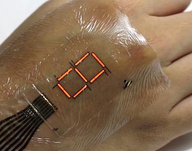 Ultra-thin electronic skin