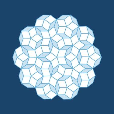 A representation of a quasicrystal