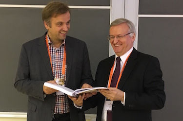 Ion Tiginyanu and Oliver Schmidt