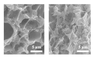 Images of the carbon structures