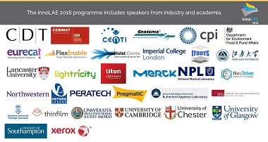 An image showing the institutions with which speakers are affiliated