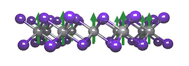 The CrI<sub>3</sub> structure